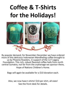 Coffee T-Shirts for the Holidays